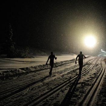 Moonlight Classic Langlaufen bei Nacht auf der Seiser Alm