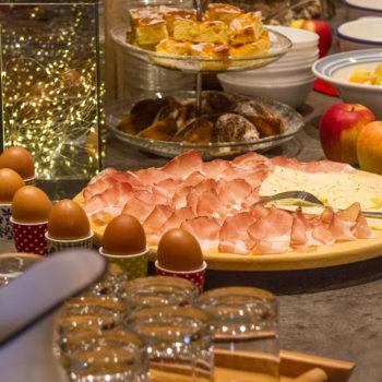 Frühstücksbuffet bei Ihrem Urlabu auf dem Bauernhof in Kastelruth